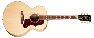 Acoustic 60th Anniversary J-185 Quilt Custom Antique Natural.jpg
