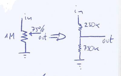 Funcionamiento de un tone stack fmv : Electrónica DIY página