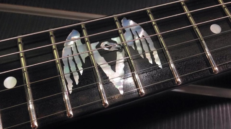 ESP Vulture Inlay
