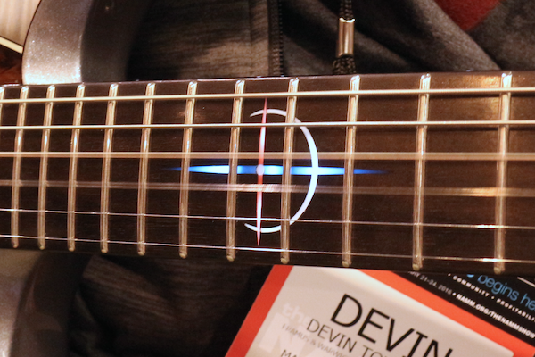 Devin Townsend signature: inlay traste 12