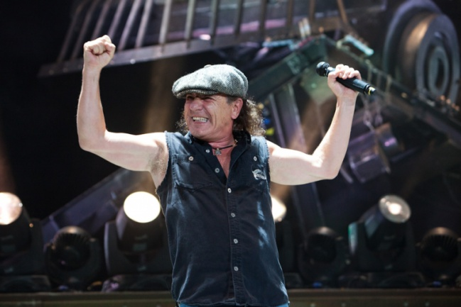 AC/DC Briam Johnson