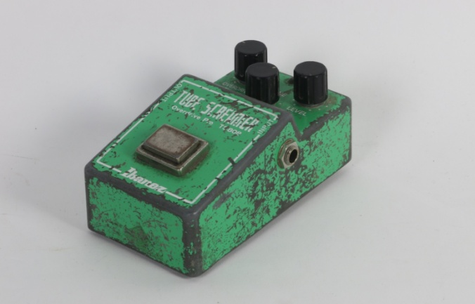 El Tube Screamer de Stevie Ray Vaughan