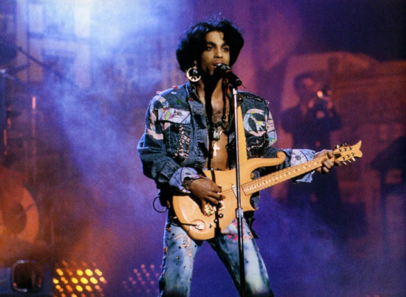 Prince y su Cloud Guitar