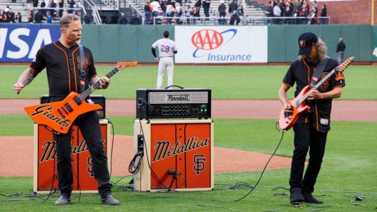 Metallica Day y San Francisco Giants