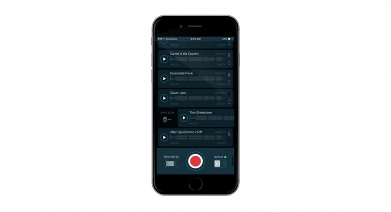Wiretap recorder App