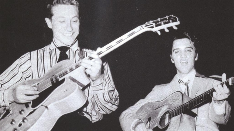 Scotty Moore con Elvis Presley