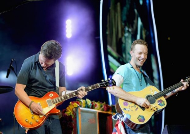 Coldplay y Michael J. Fox