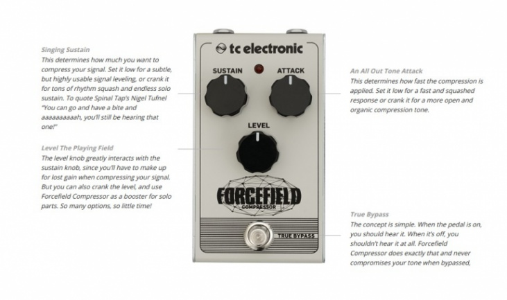 Forcefield TC Electronic