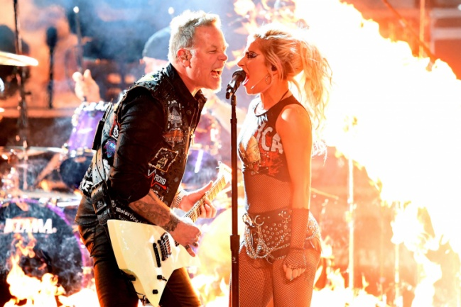 Metallica Lady Gaga