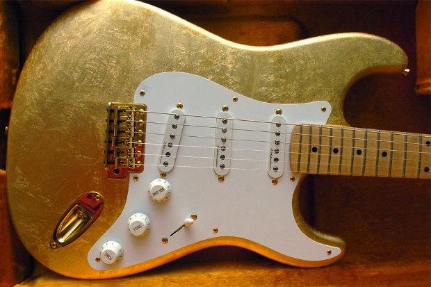 Eric Clapton Gold Leaf