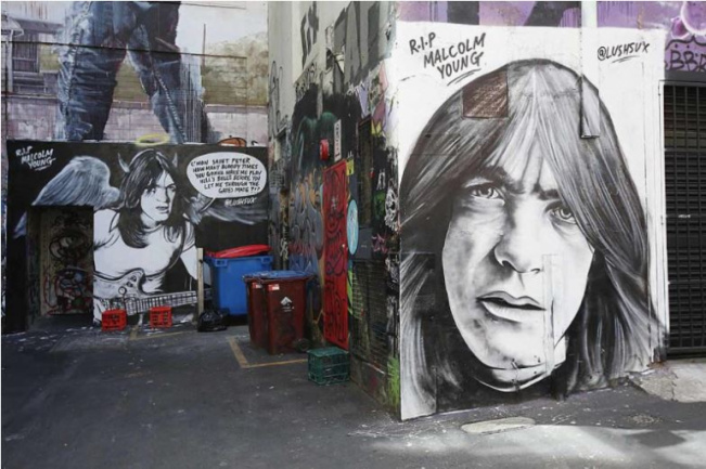Fans a Malcolm Young
