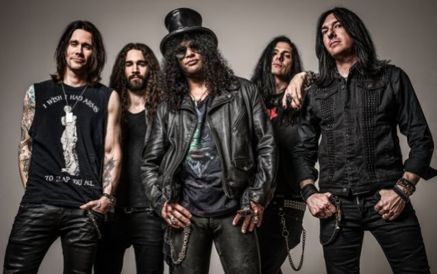 Slash and the conspirator