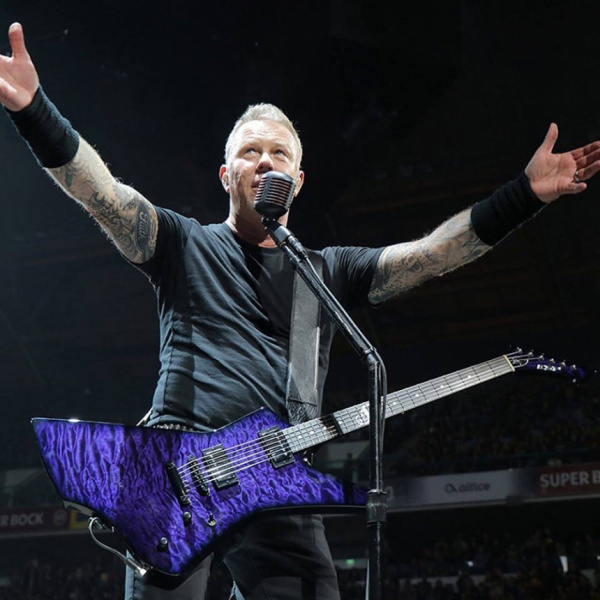 James hetfield purple