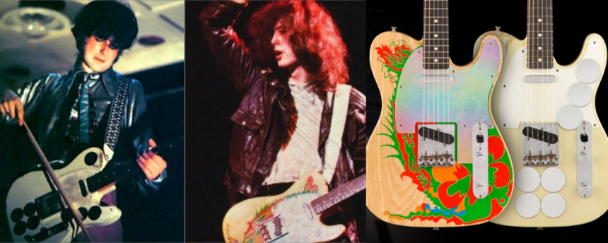 Fender Custom Shop Jimmy Page Mirror Dragon