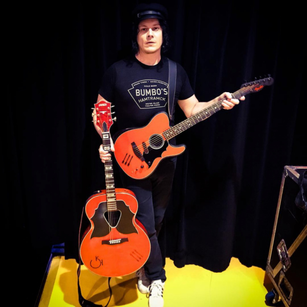 Jack White Acoustasonic instagram