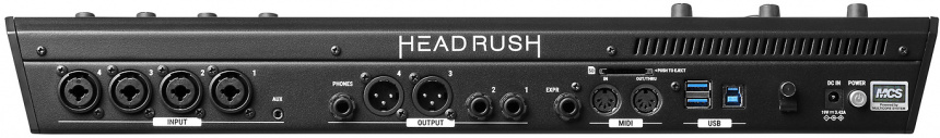 Headrush Looperboard back
