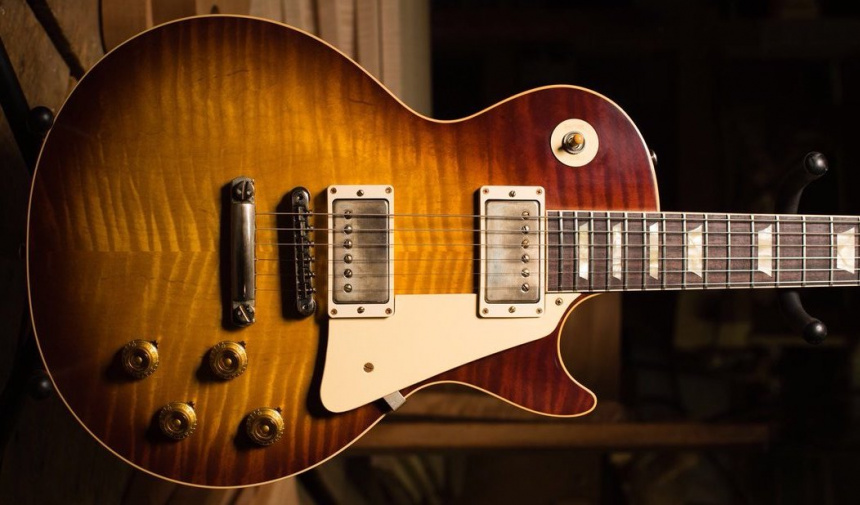 60th Anniversary 1959 Les Paul Standard front