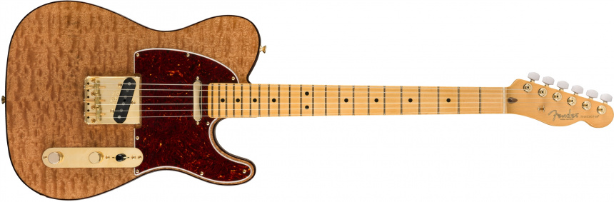 Rarities Red Mahogany Top Telecaster front