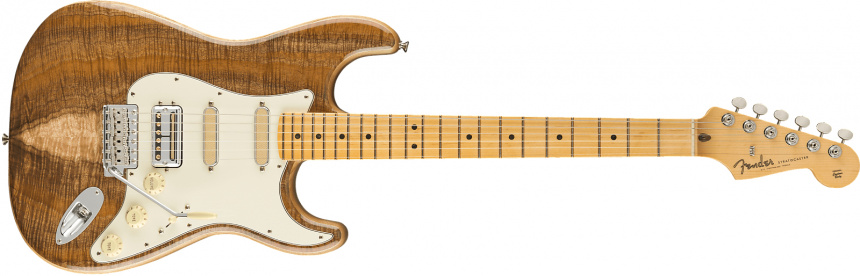 fender-rarities-flame-koa-top-stratocaster front