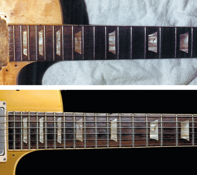 Layla Les Paul before-After