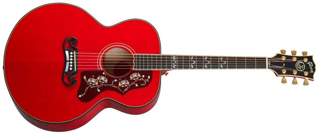 La nueva Gibson Orianthi SJ-200 signature combina cuerpo de acústica y  mástil de eléctrica | Guitarristas.info