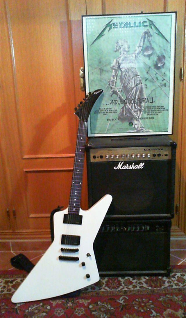 Epiphone 1984 Explorer Pequeño Cambio De Piezas Guitarras Eléctricas Acústicas Clásicas Y Bajos Guitarristas Info