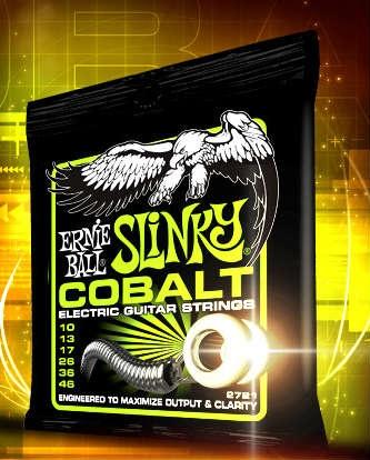 Ya disponibles las Ernie Ball Cobalt Slinky