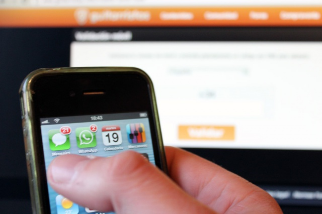Validación de móvil en Mercasonic