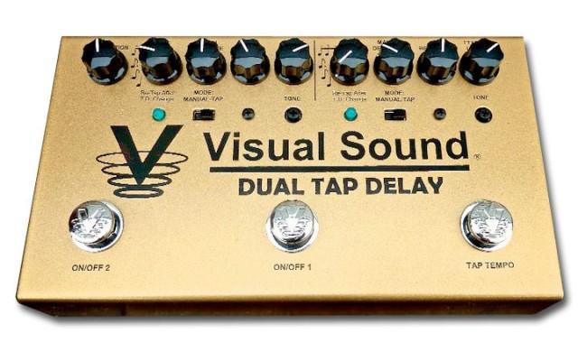 Dual Tap Delay de Visual Sound
