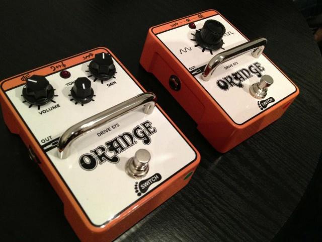 Pedales Orange