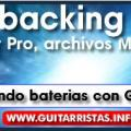 Crear backing tracks - Parte 2, Escribiendo baterias en Guitar PRO.