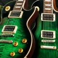 Nuevas Gibson Slash Signature: Custom Anaconda Burst Les Paul y Firebird
