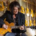 "Gibson Custom Shop anuncia oficialmente la Joe Perry ""Gold Rush"" Les Paul Axcess"
