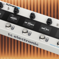 El multiefectos TC Electronic Plethora X5 permite crear hasta 127 pedaleras virtuales diferentes