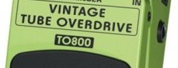"Overdrive de ""Low Cost"": Behringer Vintage Tube Overdrive TO 800"