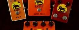 Edición especial de pedales Black Cat