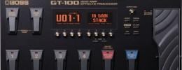 Nueva pedalera multiefectos BOSS GT-100