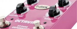 Video REVIEW: T-Rex, Pedal octavius, pedal octavador y booster en uno