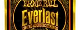 Nuevas cuerdas para acústica Ernie Ball Everlast