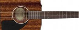 Nuevas Fender CD-60 y CD-60CE con cuerpo de caoba