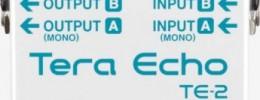 Boss anuncia su pedal nº 100, TE-2 Tera Echo