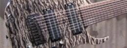Ibanez presenta una guitarra de 9 cuerdas