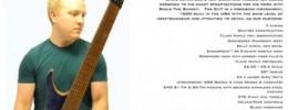 Strandberg presenta la nueva signature de Chris Letchford