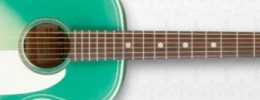 Nueva Gretsch G9510 Jim Dandy Flat Top blue sunburst