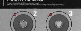 Pedalera controladora MIDI Bluetooth de Positive Grid