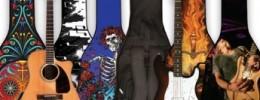 Boldface, fundas de guitarra personalizables e intercambiables