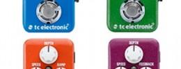 TC Electronic amplía su línea de mini pedales