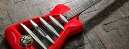 Guitarra Alfa Romeo y MITO: la fusión de Alfa Romeo junto a Marshall y Harrison Custom Guitar Works