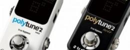 T.C Electronic anuncia el PolyTune 2 Noir y PolyTune 2 Mini
