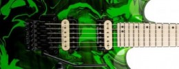Jackson Pro DK2M Dinky Limited Run Slime Green Swirl